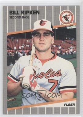 1989 Fleer #616A - Bill Ripken Rick Face - Courtesy of CheckOutMyCards.com