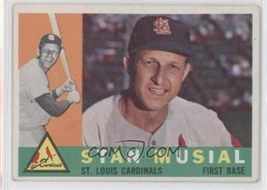 1960 Topps #250 - Stan Musial - Courtesy of CheckOutMyCards.com