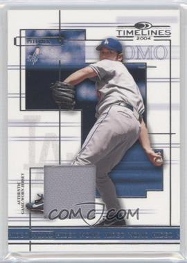 2004 Donruss Timelines Material #20 - Hideo Nomo Jsy - Courtesy of CheckOutMyCards.com