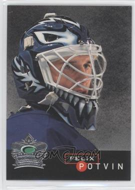 1995-96 Parkhurst International Crown Collection Silver Series 1 #2 - Felix Potvin - Courtesy of CheckOutMyCards.com
