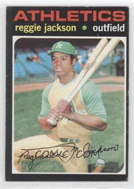 1971 Topps #20 - Reggie Jackson - Courtesy of CheckOutMyCards.com