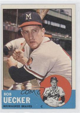 1963 Topps #126 - Bob Uecker - Courtesy of CheckOutMyCards.com