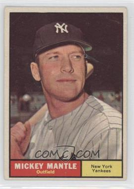 1961 Topps #300 - Mickey Mantle - Courtesy of CheckOutMyCards.com