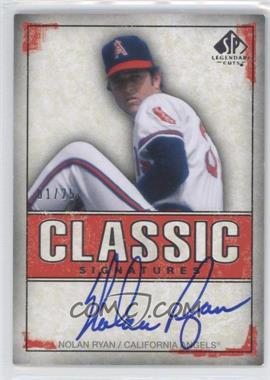 2008 SP Legendary Cuts Classic Signatures #NR - Nolan Ryan/25 - Courtesy of CheckOutMyCards.com