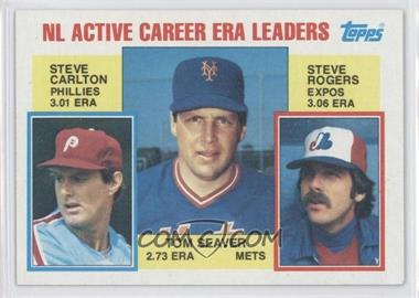1984 Topps #708 - Seaver/Carlton/Rog LL - Courtesy of CheckOutMyCards.com