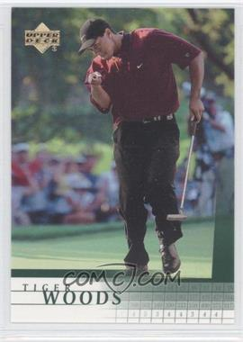 2001 Upper Deck #1 - Tiger Woods RC (Rookie Card) - Courtesy of CheckOutMyCards.com