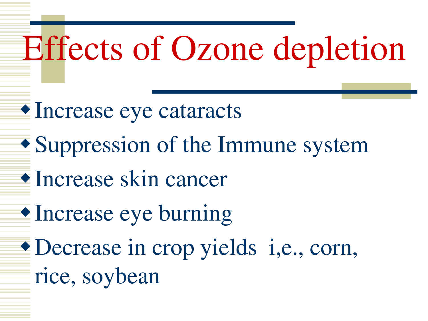 Ozone Layer Essay