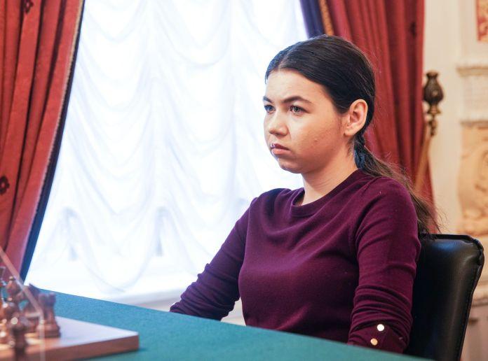 Aleksandra Goryachkina Kampionati Rus 2020