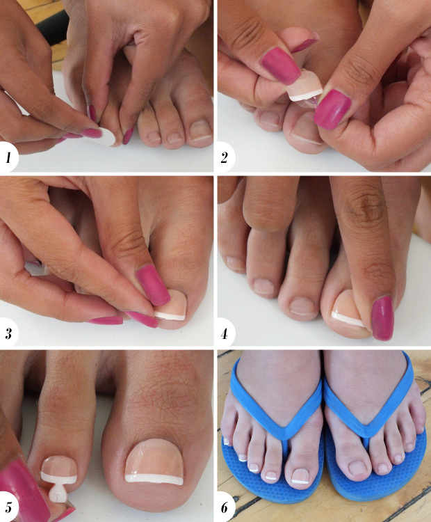 1 Prep Remove Any Existing Polish Then Use The Pad That Es With Kit To Excess Dirt Or Oils If Needed Shape Your Nails A