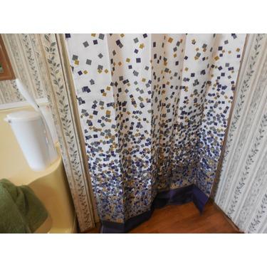 lanmeng confetti design fabric shower