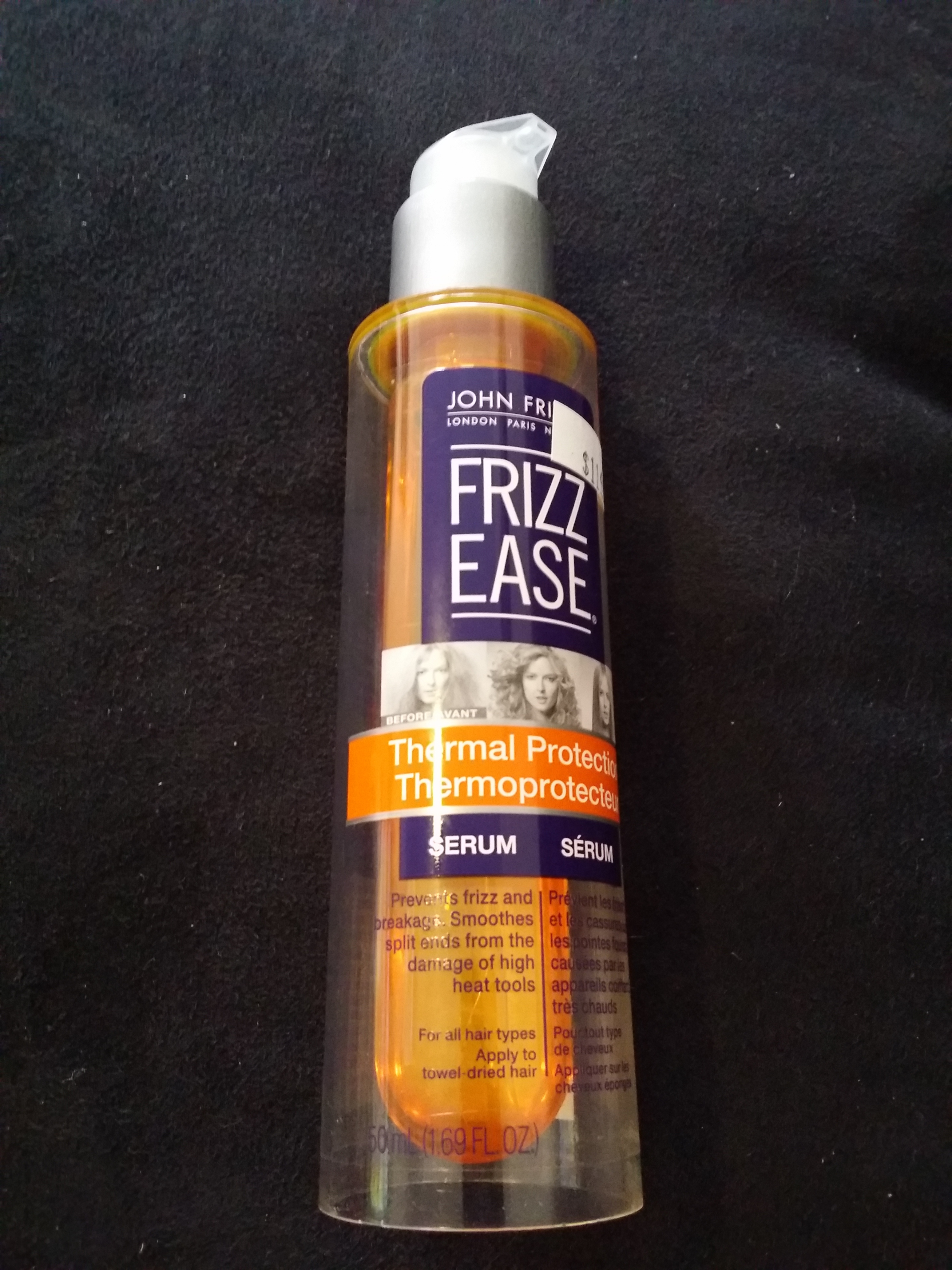 John Frieda Frizz Ease Thermal Protection Serum Reviews In Hair Care ChickAdvisor