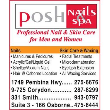 Posh Nails Corydon