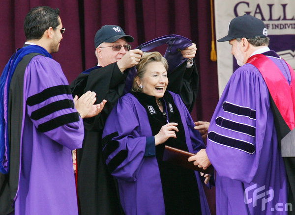 Image result for hillary clinton honorary degree nyu commencement