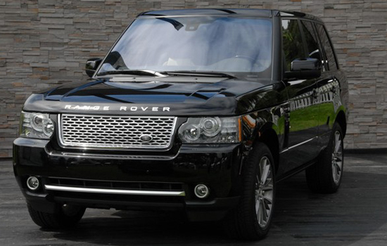 Land Rover Range Rover Autobiography,one of the 'Top 10 most expensive trucks of 2012'.