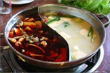Hotpot is the most famous and favorite dish in Chongqing, which is noted for its peppery hot taste - while scalding hot, it is fresh and tender. [chinadaily.com.cn]