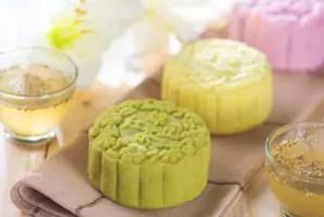 Bánh trung thu trà xanh