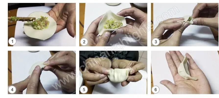 Make the dumpling