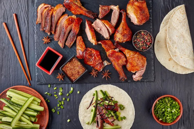 Most Popular Chinese Dishes:Peking Roasted Duck