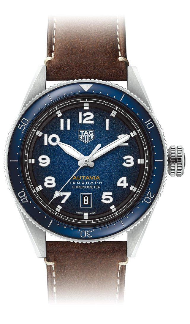 泰格豪雅Autavia腕表,11萬7800元。(TAG Heuer提供)