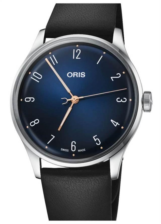 ORIS爵士大師James Morrison音樂學院限量腕表,6萬元。(ORIS提供 )