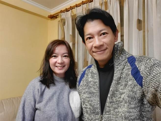 谷懷萱和徐展元鶼鰈情深。(圖/FB@我是谷懷萱)