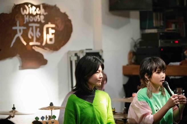 柯泯薰(左)、馬曉安共同合作。(動靜音樂提供)