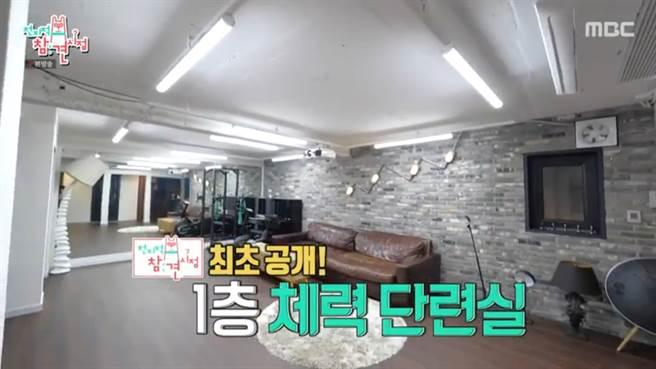 Rain公開愛巢內裝。(圖/翻攝自MBC)