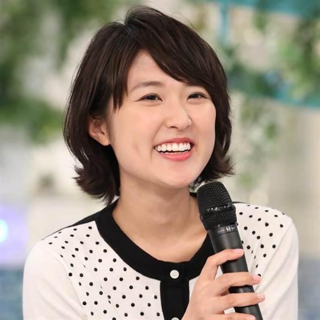 日本電視主播近江友里惠。(來源:www.news-postseven.com)