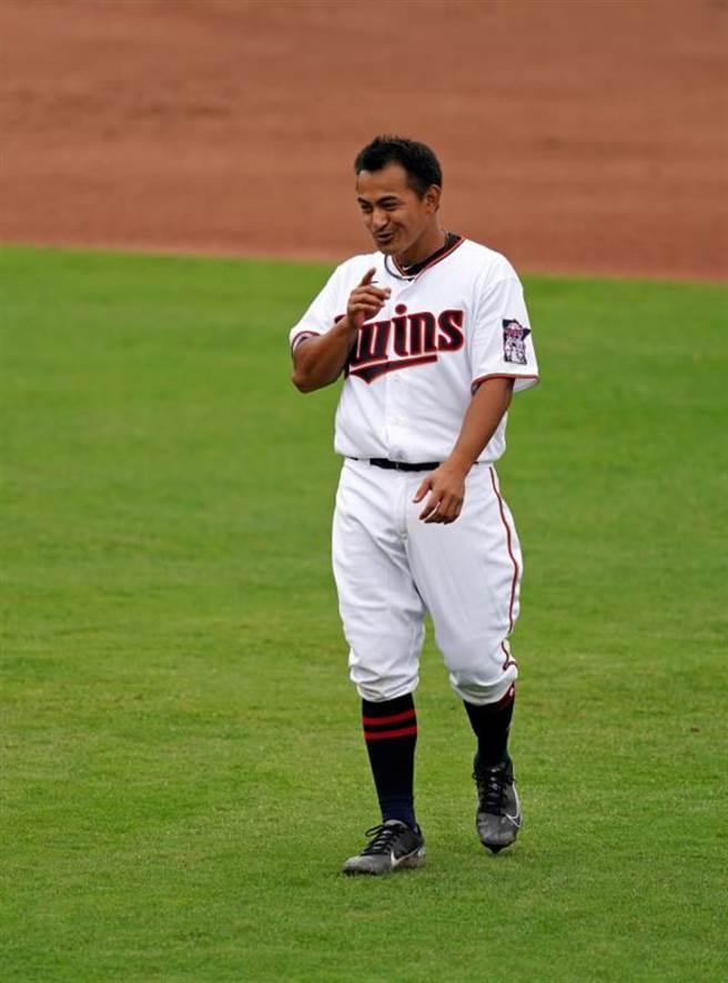 雙城隊台將林子偉先發擔任三壘手。(路透)