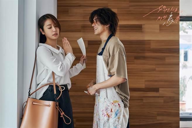 林哲熹劇中對林心如一見鍾情。(可米傳媒提供)