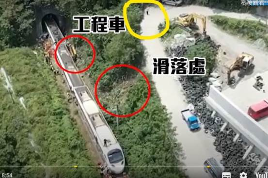[Taroko descarrila]正在施工的施工车辆在关键发生前7分钟?检察官呼吁工人返回现场-社会-中国时报新闻