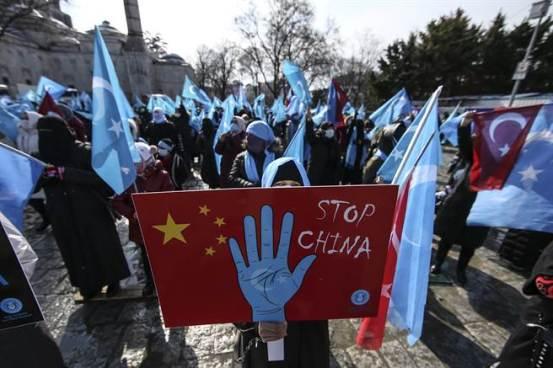 新疆问题爆发外交争端,媒体谣传土耳其切断海峡两岸中国大使馆供水