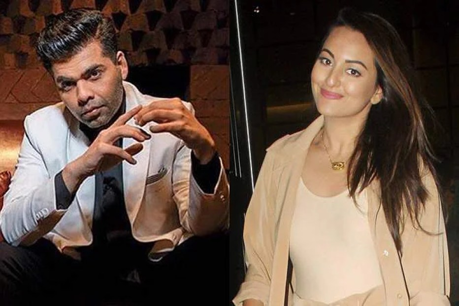 Image result for Karan Johar to announce his next collaboration with Sonakshi Sinha