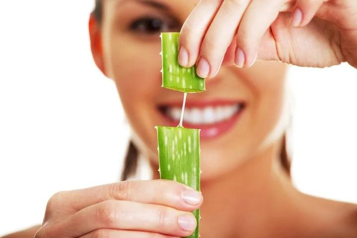 El aloe vera, otro elemento natural aliado para blanquear dientes en forma casera.