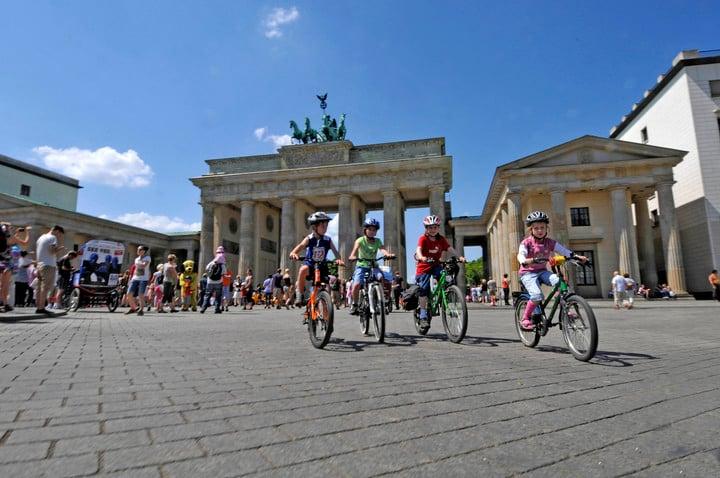 Brandenburg Gate.  Berlin combines like no history and avant-garde.