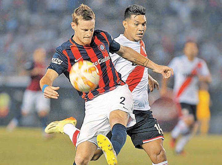 Cetto fue campeón en San Lorenzo del torneo local en 2013 y de la Copa Libertadores en 2014. Foto: Archivo Clarín.