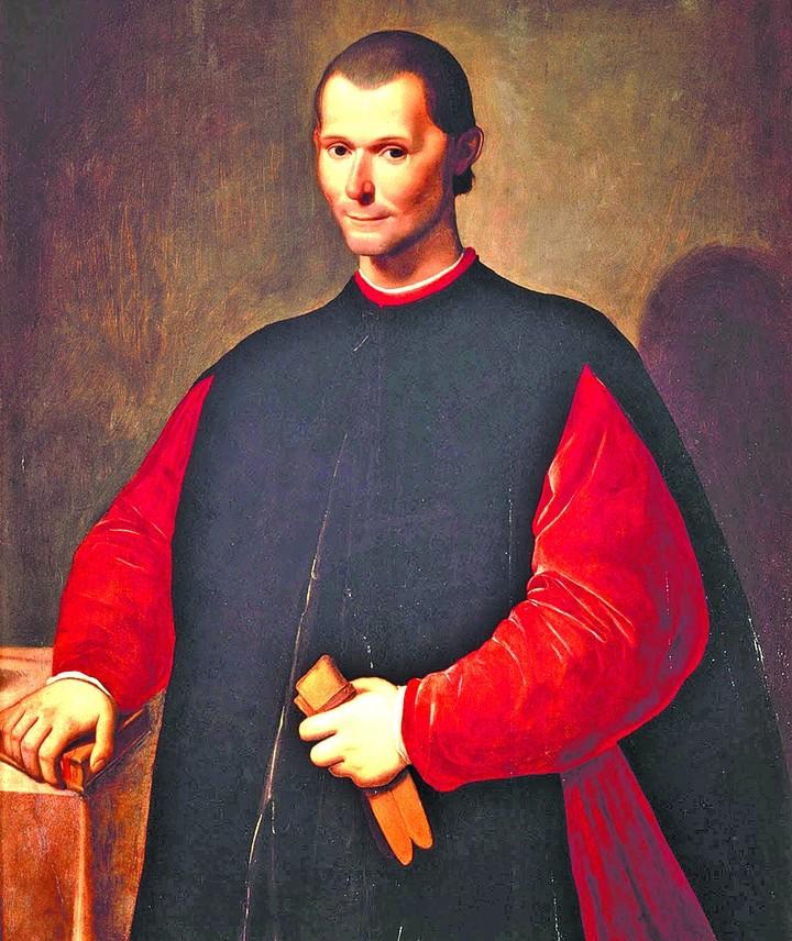 """Nicolás Maquiavelo escribió en El Príncipe que """"el fin justifica los medios. Frase de cabecera de los pólíticos argentos."""