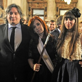 Máximo and Florencia Kirchner recover their Condominium with few tenants, debts and incredible expenses