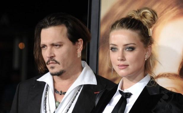 Depp y su ex esposa, con quien mantuvo una disputa económica. (DPA).