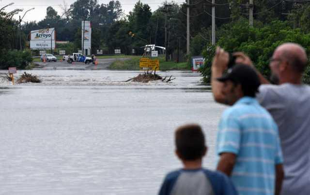 """Más de 70 localidades afectadas y """"picos históricos"""" de lluvia en Santa Fe"""