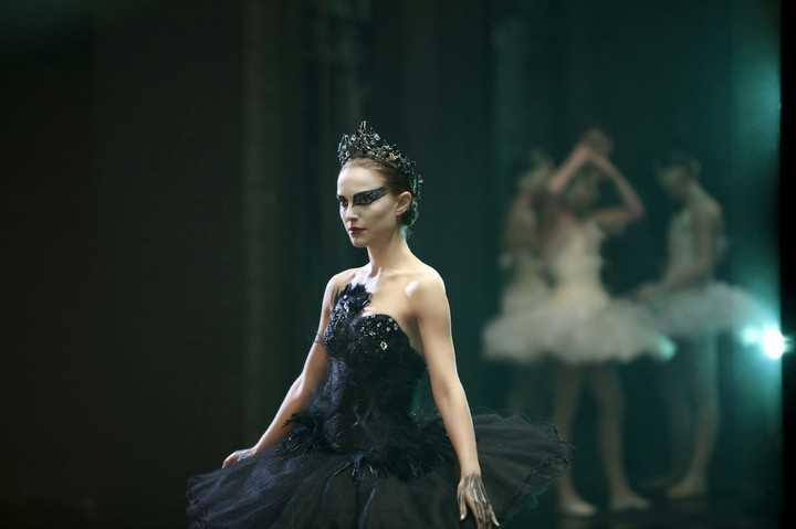 "Natalie Portman in ""The black swan"".  Photo Clarín Archive"
