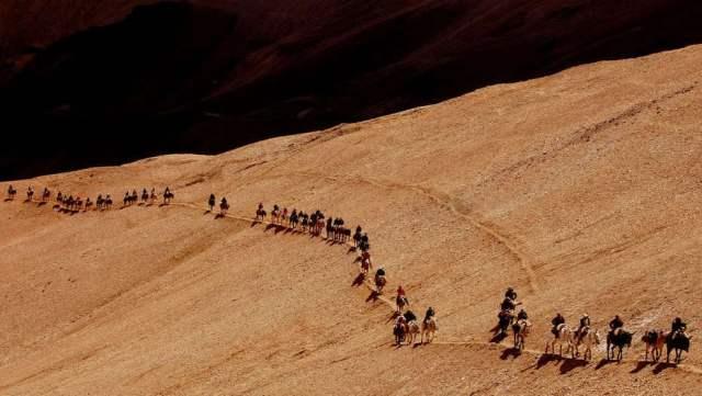 A 200 años del Cruce de los Andes, miles de argentinos reviven la hazaña de San Martín
