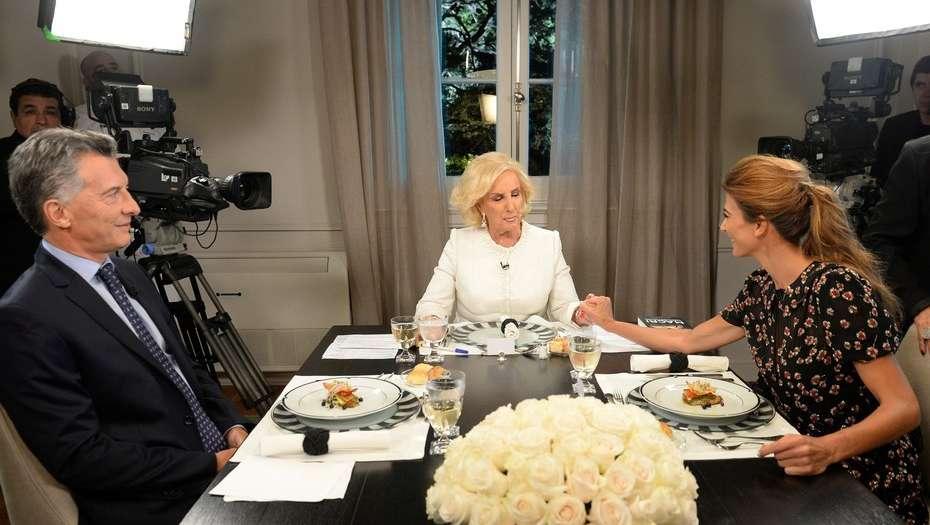 """La cena de Mauricio Macri con Mirtha Legrand en Olivos: """"Los gremios han destruido la educación pública"""""""
