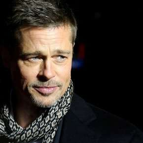 Who is the woman with whom he would be leaving Brad Pitt: is an actress and has 25 years less