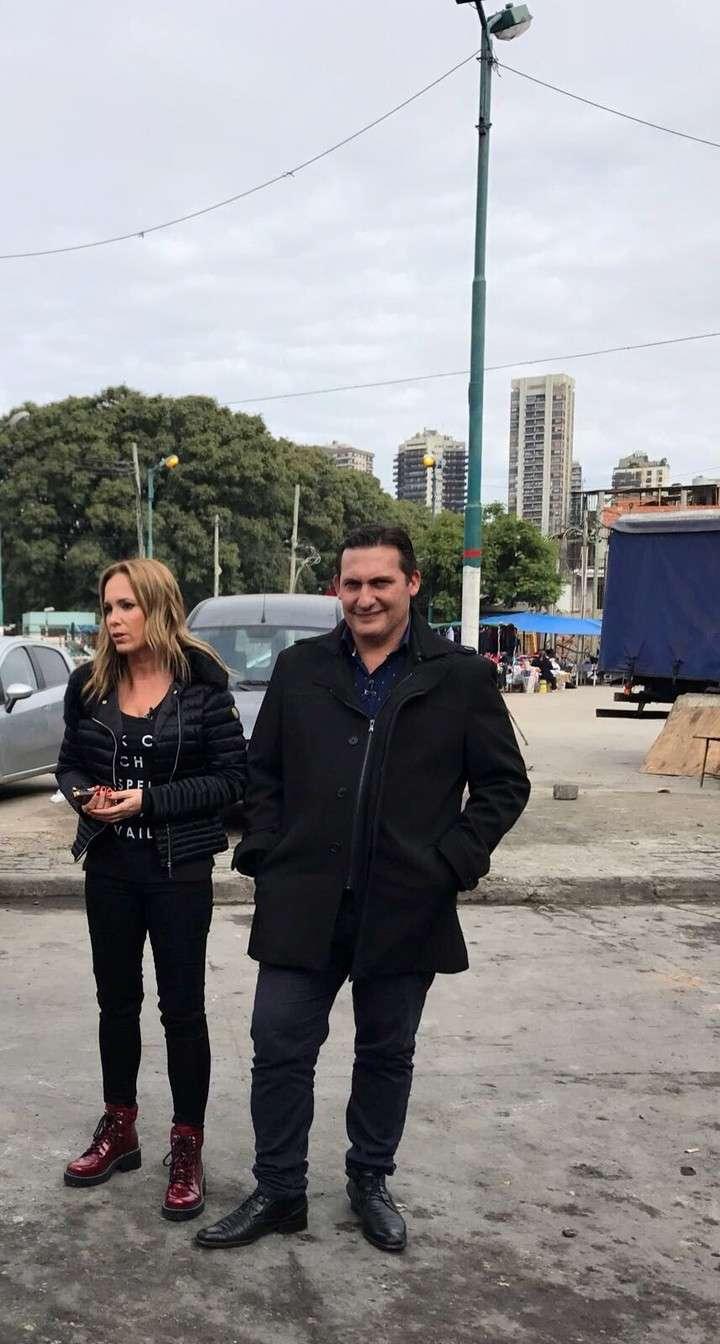 """Natalia Denegri graba en Argentina historias de """"Corazones guerreros"""""""