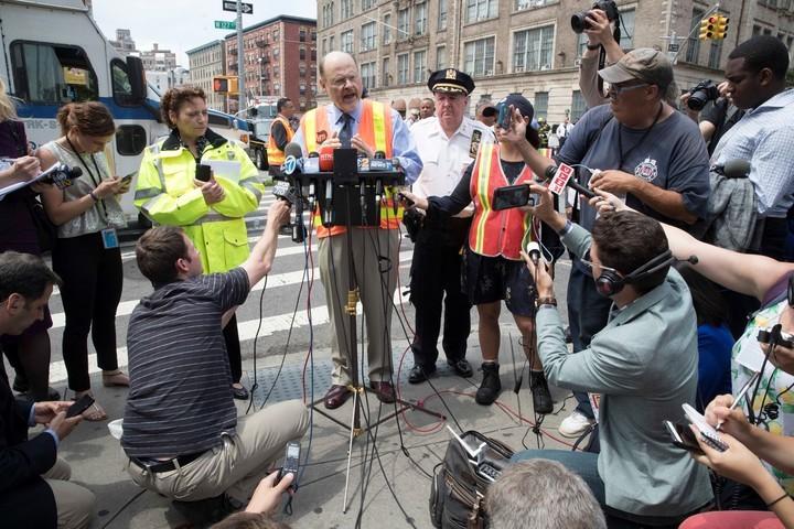 Nueva York: descarrila un tren del subte y hay 34 heridos