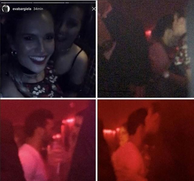 Se filtraron polémicas imágenes de Fabián Cubero con... ¡la ex de Facundo Moyano!