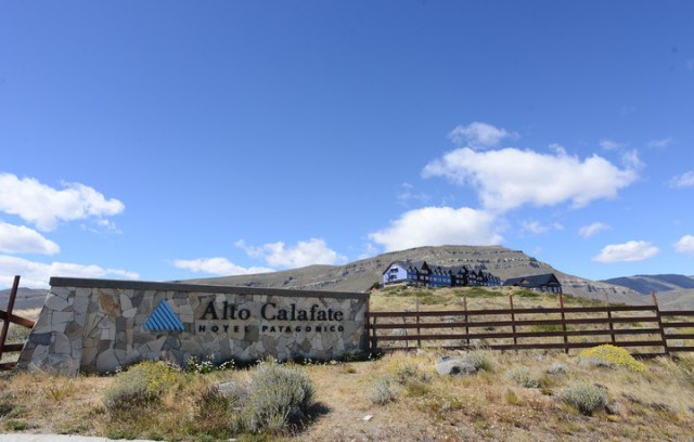El hotel Alto Calafate propiedad de la familia Kirchner. (Foto: OPI Santa Cruz)