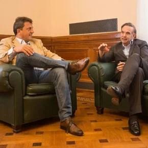 Massa negocia con Pichetto para destrabar la ley de extinción de dominio en el Senado