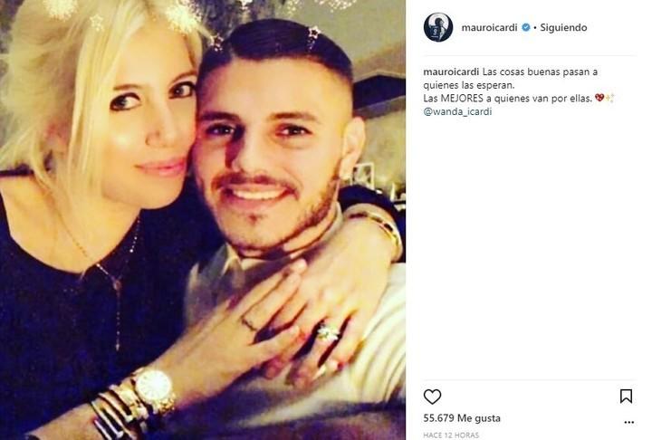 Contundentes mensajes de Mauro Icardi tras los rumores de infidelidad de Wanda Nara